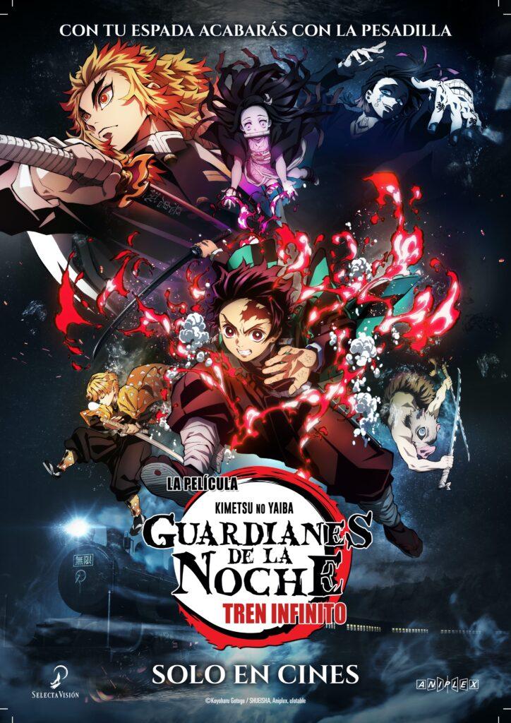 'Guardianes de la noche (Kimetsu no Yaiba): Tren Infinito' se estrenará en cines el 23 de abril • En tu pantalla