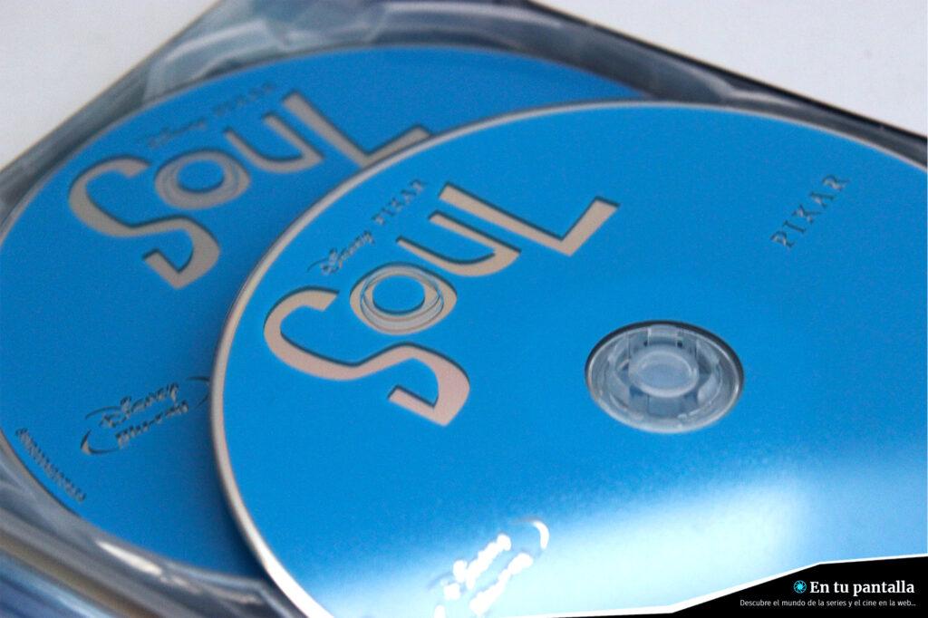 'Soul': Un vistazo al steelbook Blu-ray con dos discos • En tu pantalla