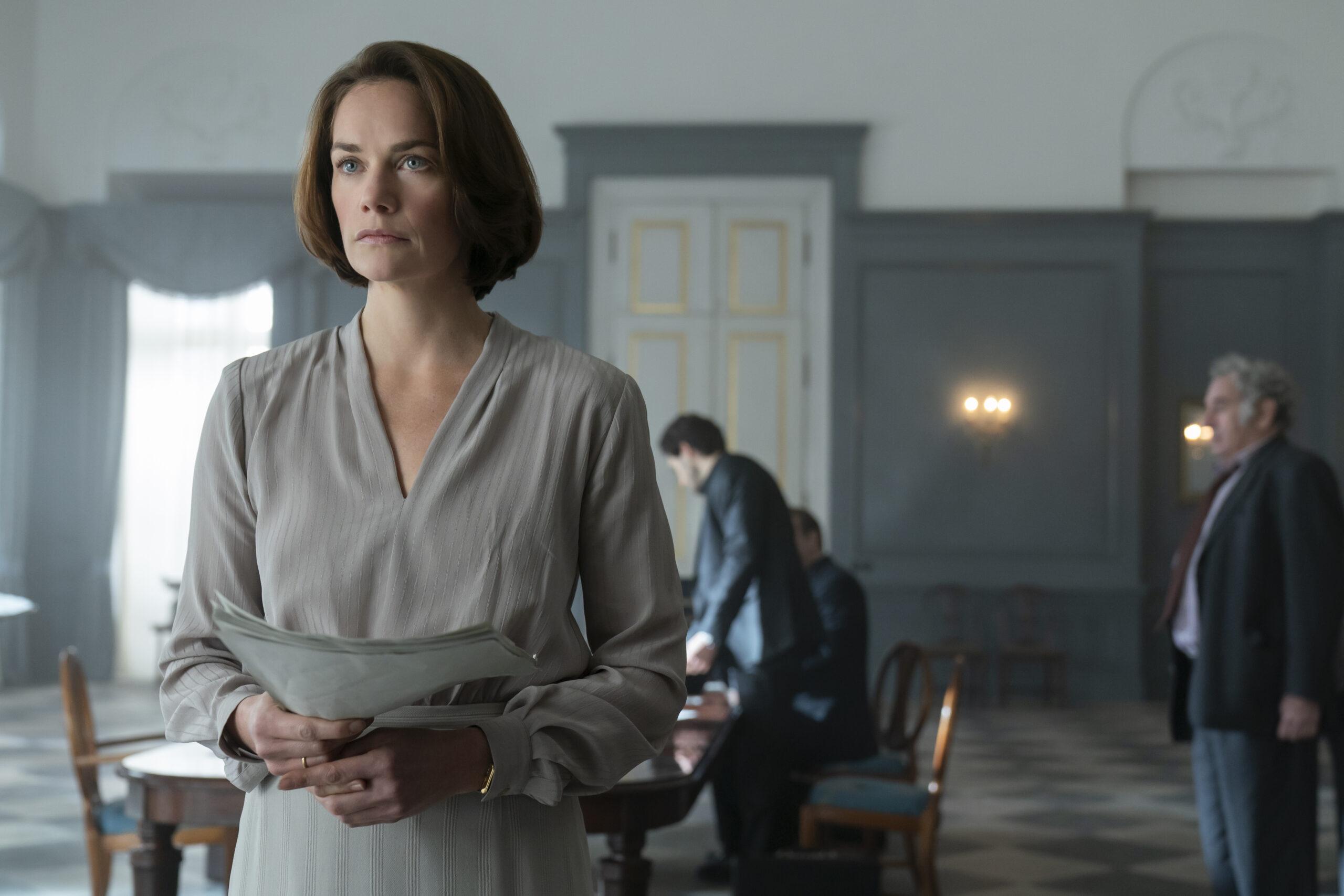 'Oslo', la nueva película original de HBO con Ruth Wilson y Andrew Scott • En tu pantalla