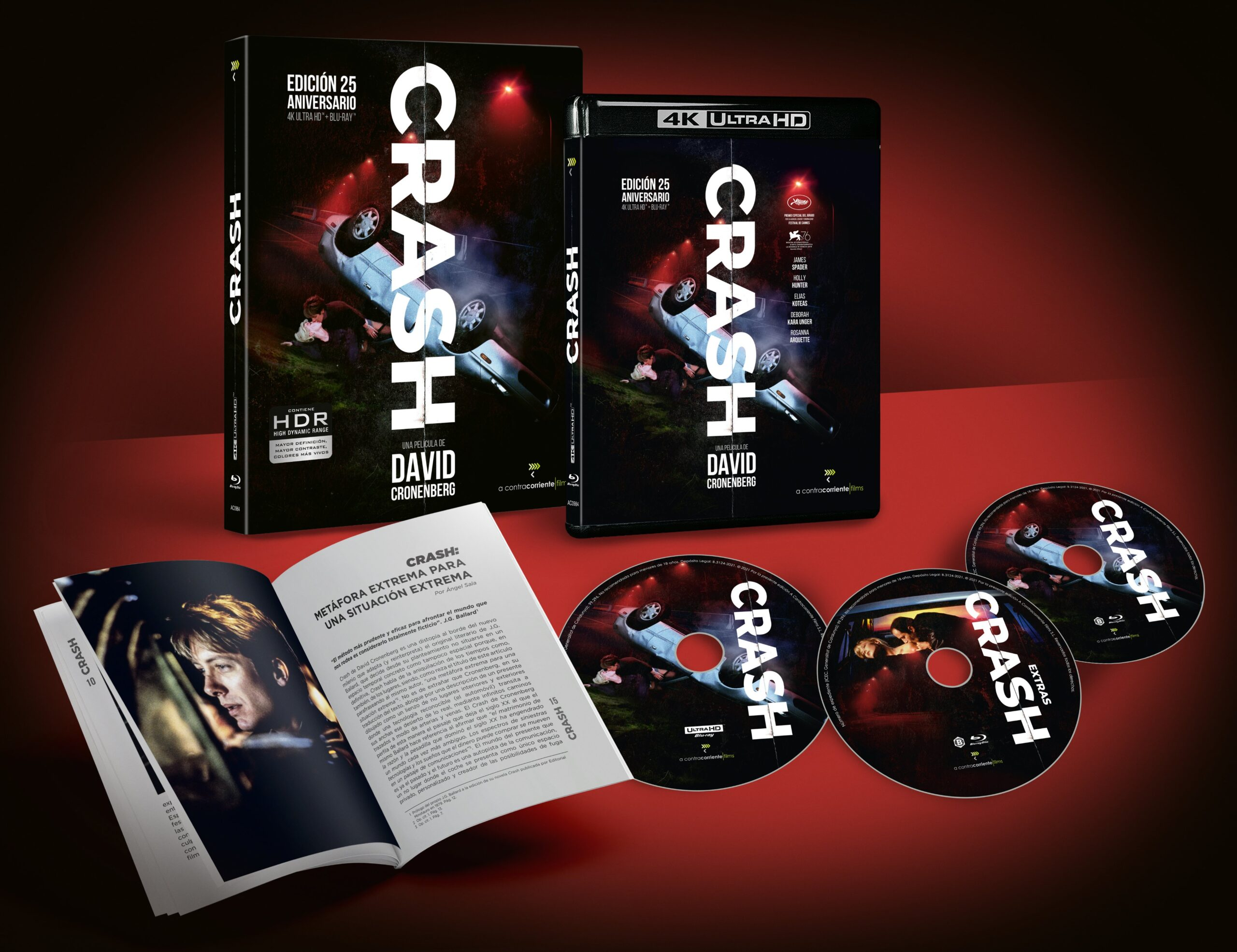 'Crash' llegará en 4K Ultra HD el 13 de julio de la mano de A Contracorriente Films • En tu pantalla