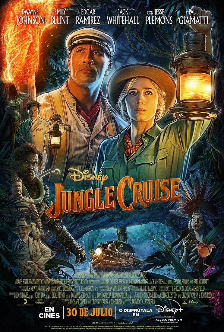 'Jungle Cruise': Nuevo tráiler de la aventura de Dwayne Jhonson y Emily Blunt • En tu pantalla