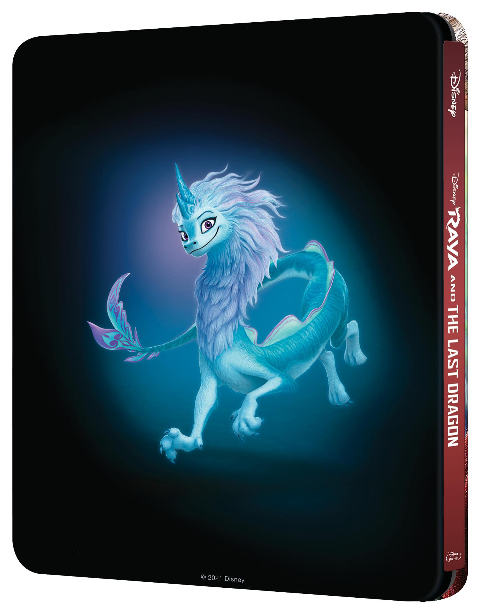 'Raya y el último dragón' llegará en Steelbook Blu-ray, Blu-ray y Dvd el 18 de mayo • En tu pantalla