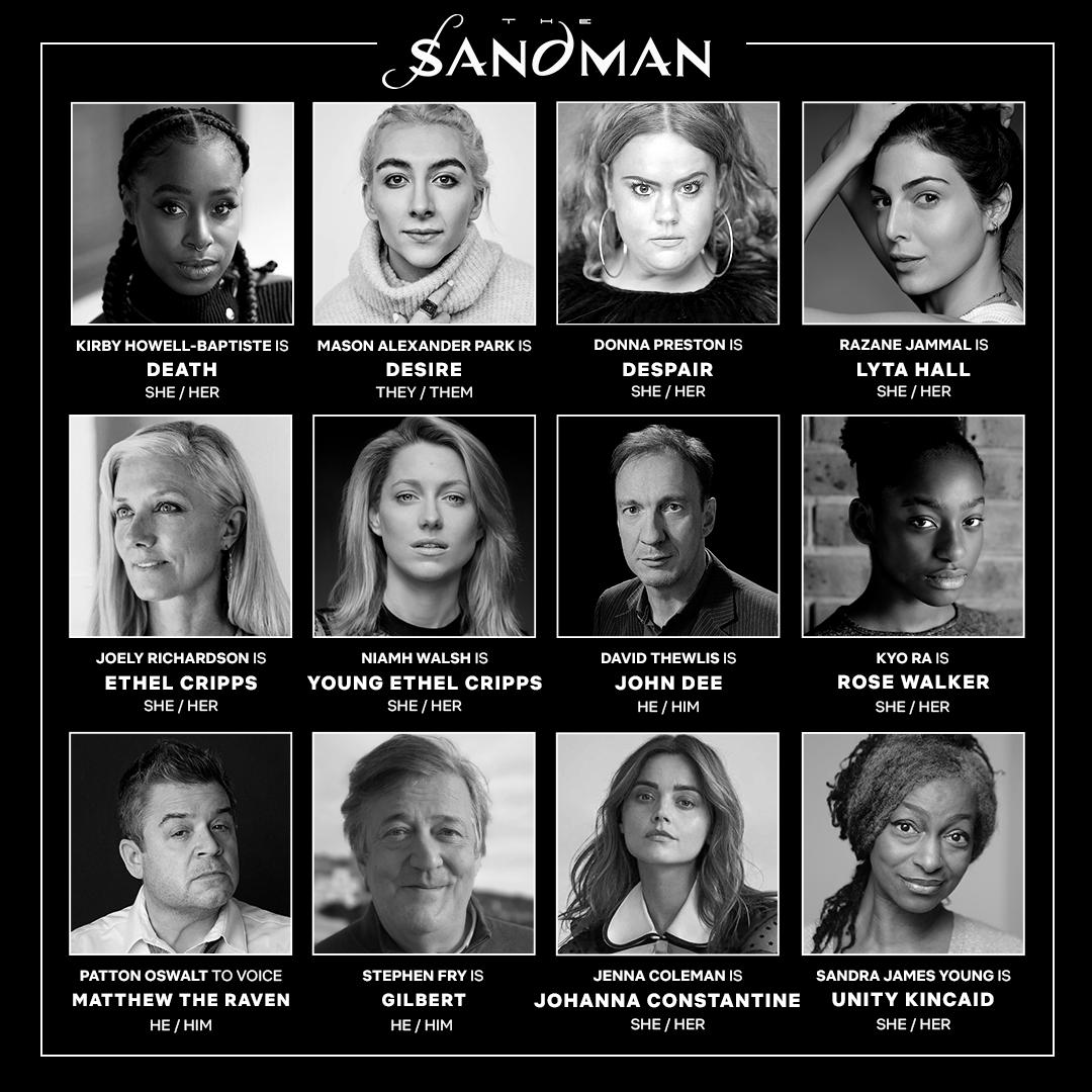 'The Sandman': Netflix anuncia nuevas incorporaciones al reparto de la serie • En tu pantalla