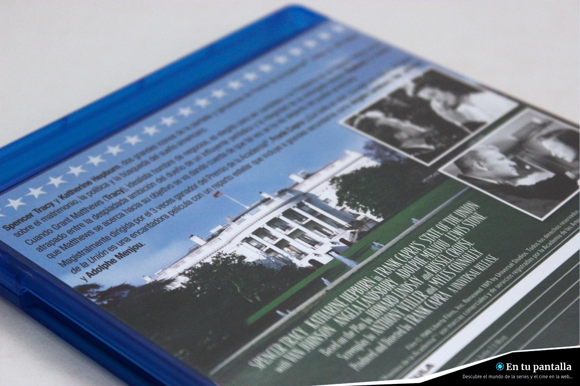 Análisis Blu-ray: 'El estado de la unión', un gran clásico por primera vez en Blu-ray • En tu pantalla