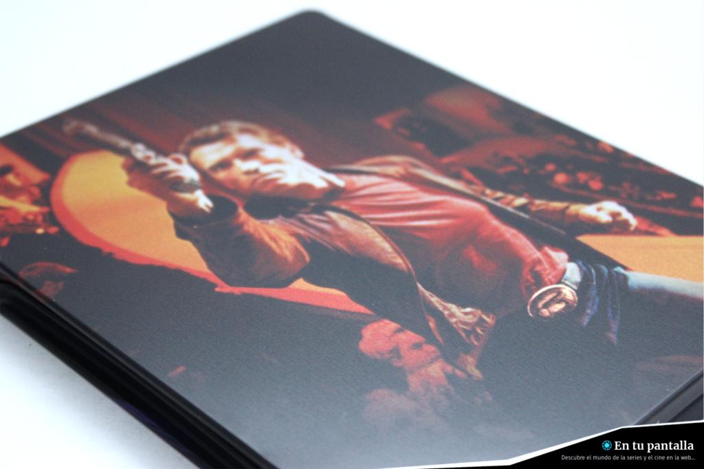 'El último gran héroe': Un vistazo al steelbook 4K Ultra HD • En tu pantalla