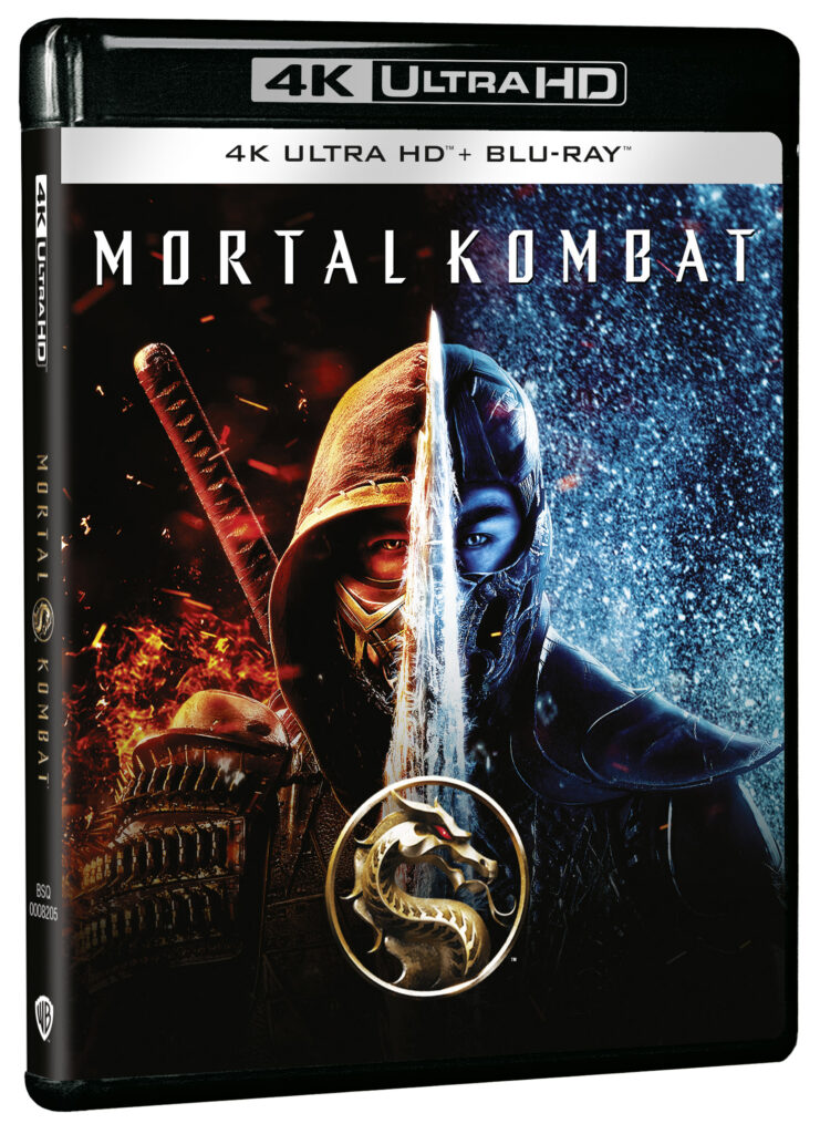 'Mortal Kombat' (2021) en 4K Ultra HD, Blu-ray, Dvd y Steelbook • En tu pantalla