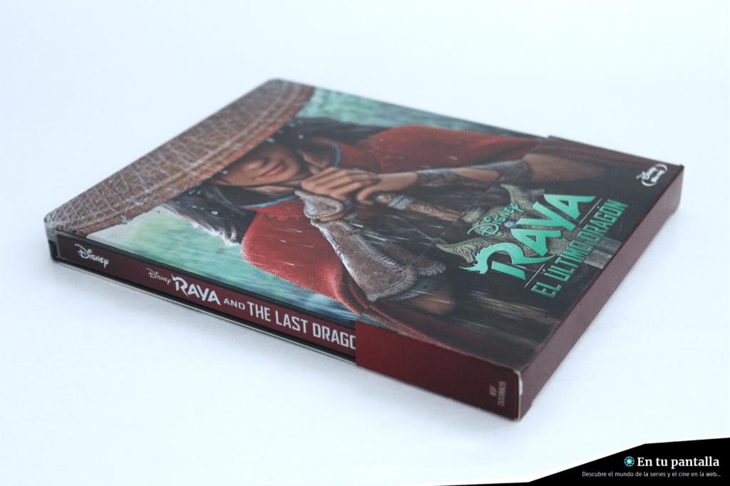 'Raya y el último dragón': Un vistazo al steelbook Blu-ray • En tu pantalla