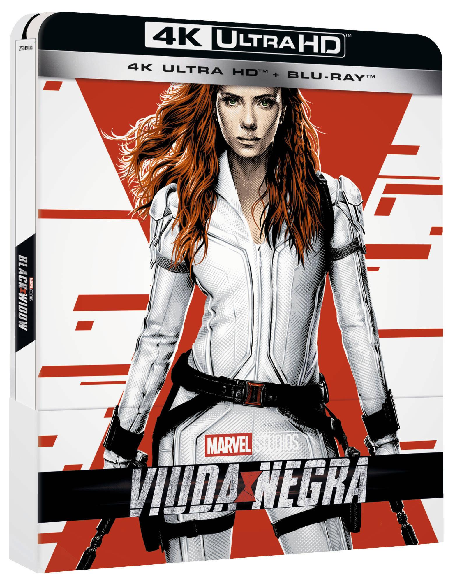'Viuda Negra' llegará en 4K, Steelbook, Blu-ray y Dvd • En tu pantalla