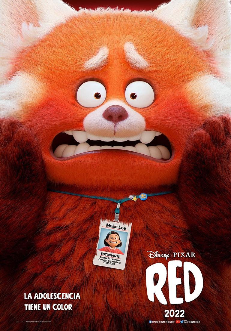 'Red': Primer teaser tráiler de la nueva aventura de Pixar • En tu pantalla