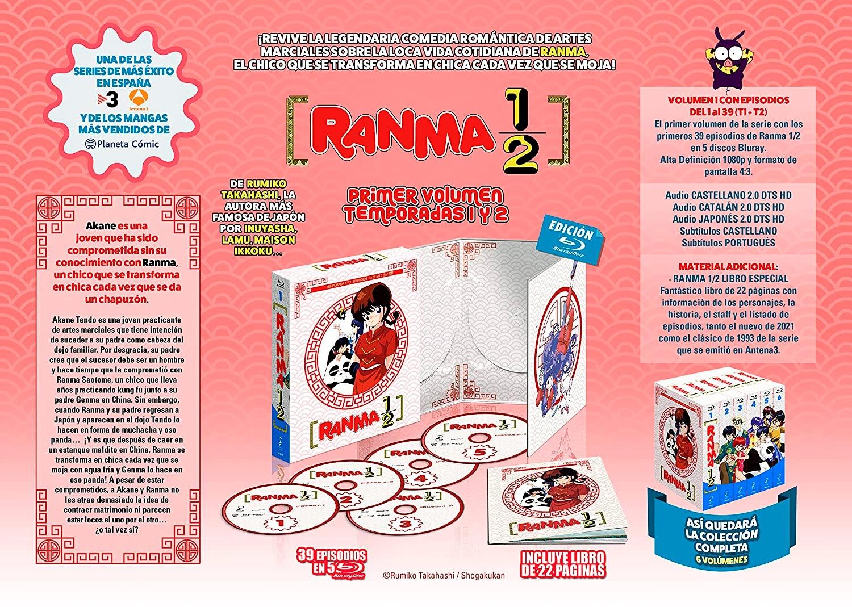 'Ranma 1/2': El primer box en Blu-ray llegará el 3 de septiembre • En tu pantalla