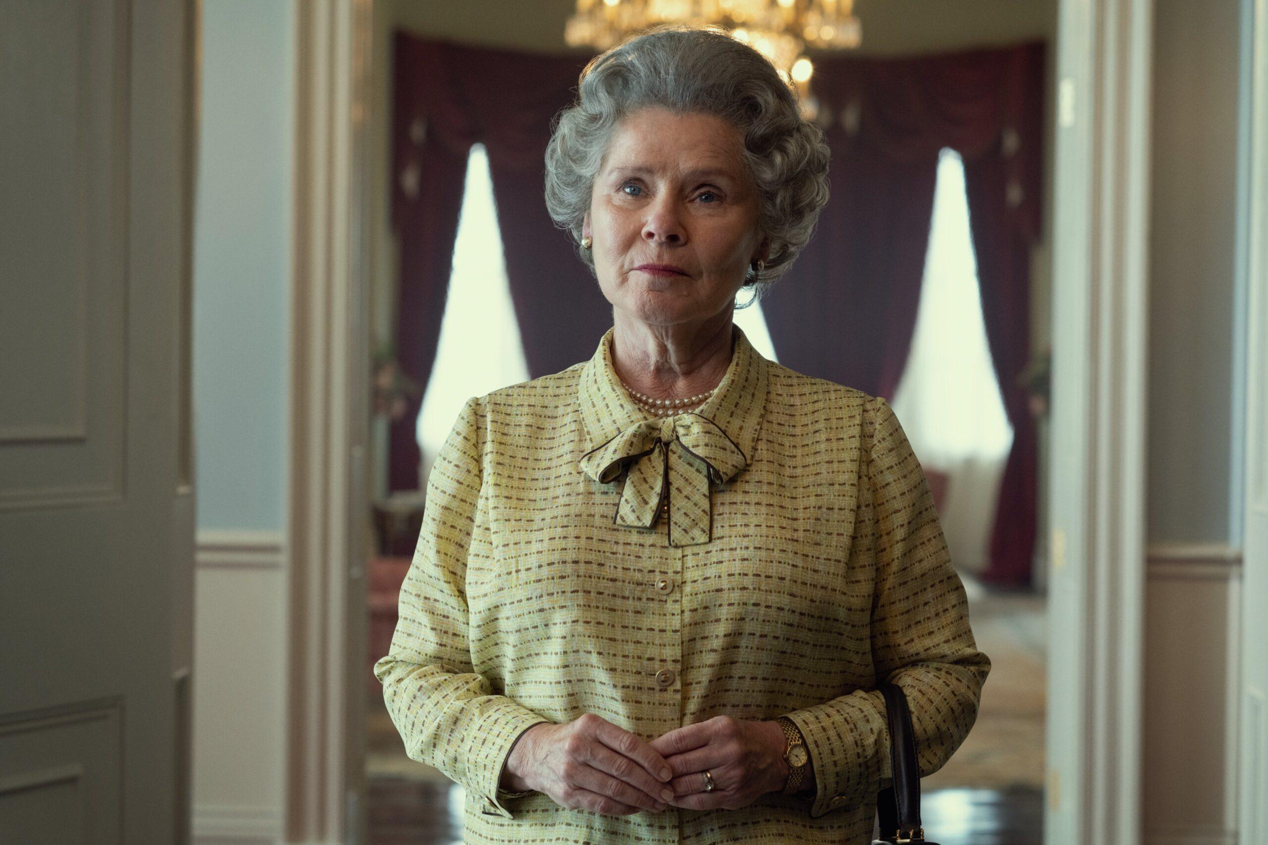 Primera imagen de Imelda Staunton como la reina en 'The Crown' • En tu pantalla