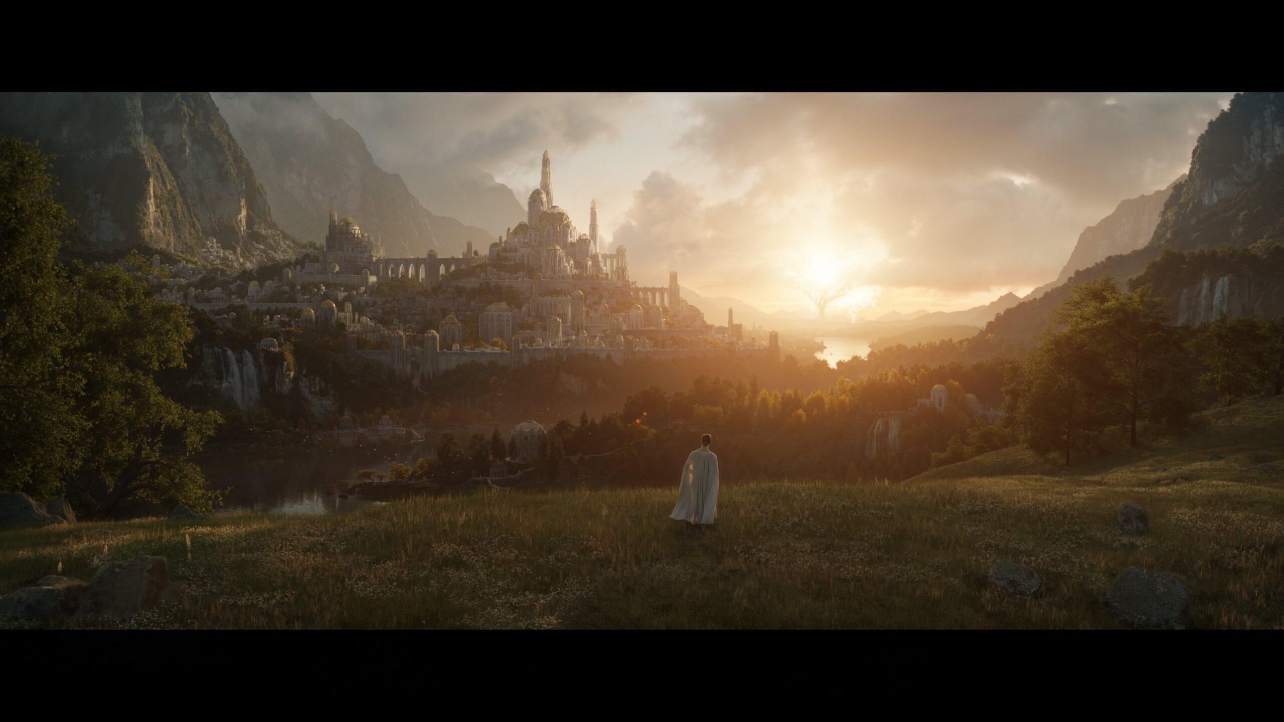 'El Señor de los Anillos': Primera imagen de la serie de Amazon Prime Video • En tu pantalla
