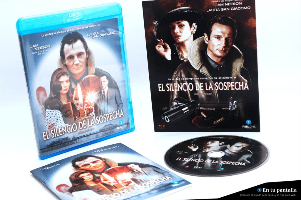 Análisis Blu-ray: 'El silencio de la sospecha', un nuevo lanzamiento de Reel One • En tu pantalla