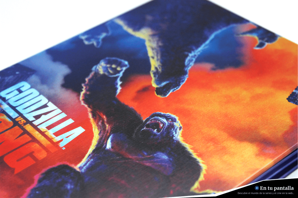 'Godzilla vs. Kong': Un vistazo al steelbook 4K Ultra HD • En tu pantalla