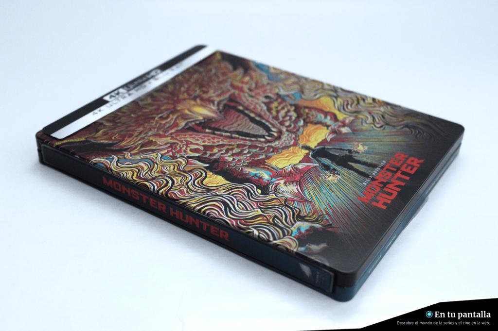 'Monster Hunter': Un vistazo al steelbook 4K Ultra HD • En tu pantalla