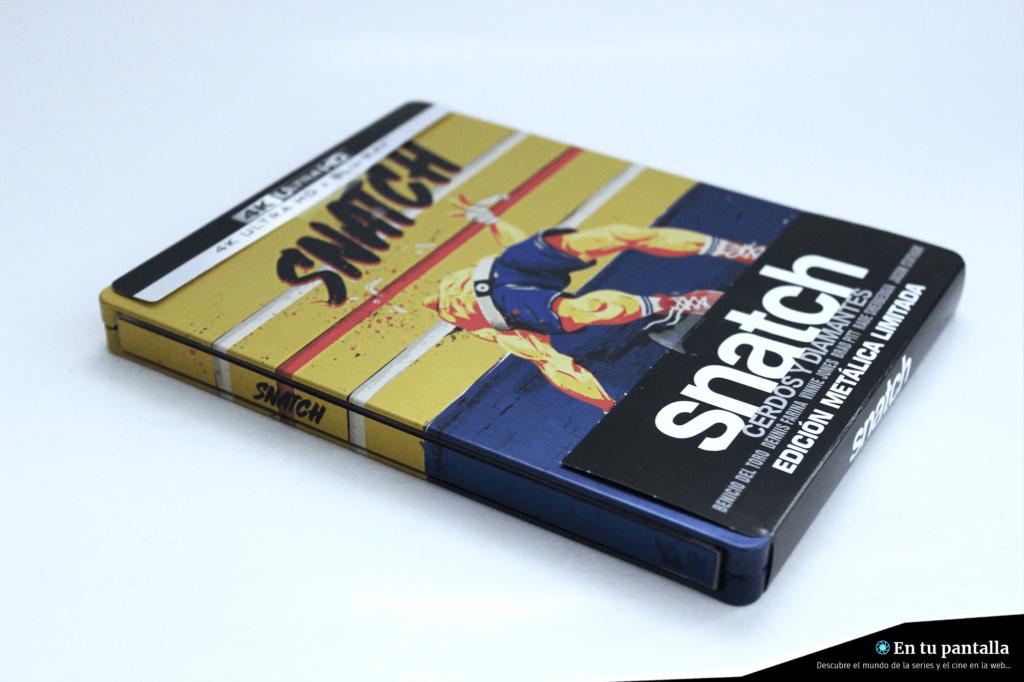 'Snatch: Cerdos y diamantes': Un vistazo al steelbook 4K Ultra HD • En tu pantalla