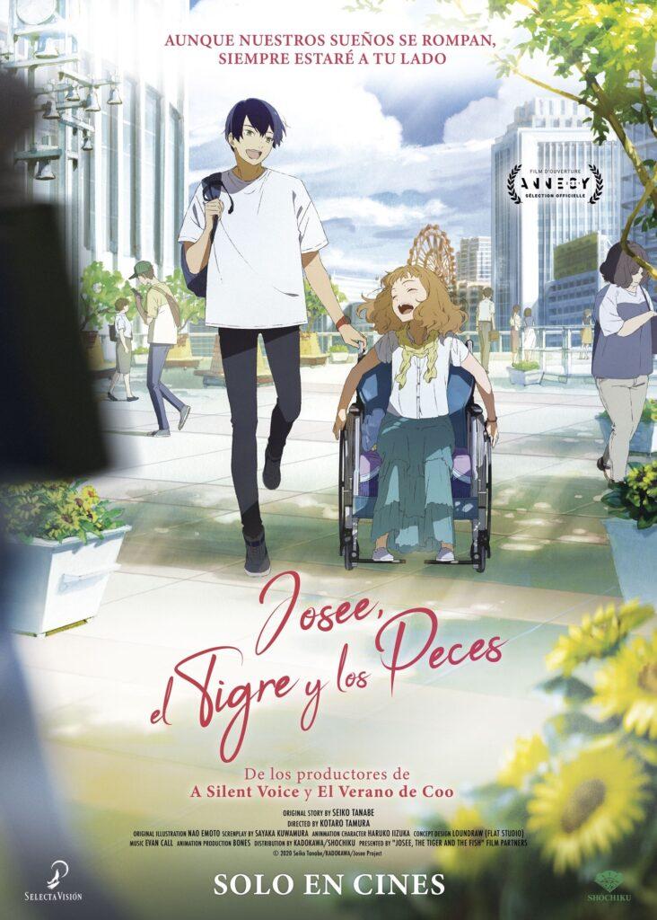 'Josee, el Tigre y los Peces' llegará a los cines el 10 de septiembre • En tu pantalla