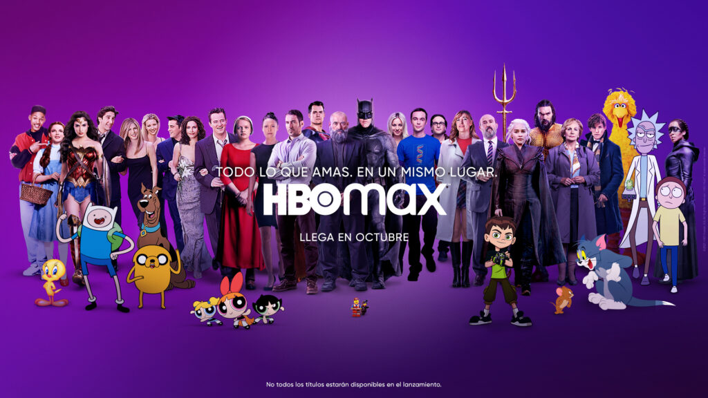 HBO Max llega a España el 26 de octubre • En tu pantalla