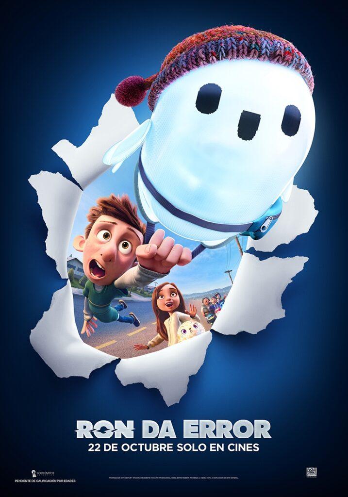 'Ron Da Error': Tráiler de la nueva película de animación de 20th Century Studios • En tu pantalla