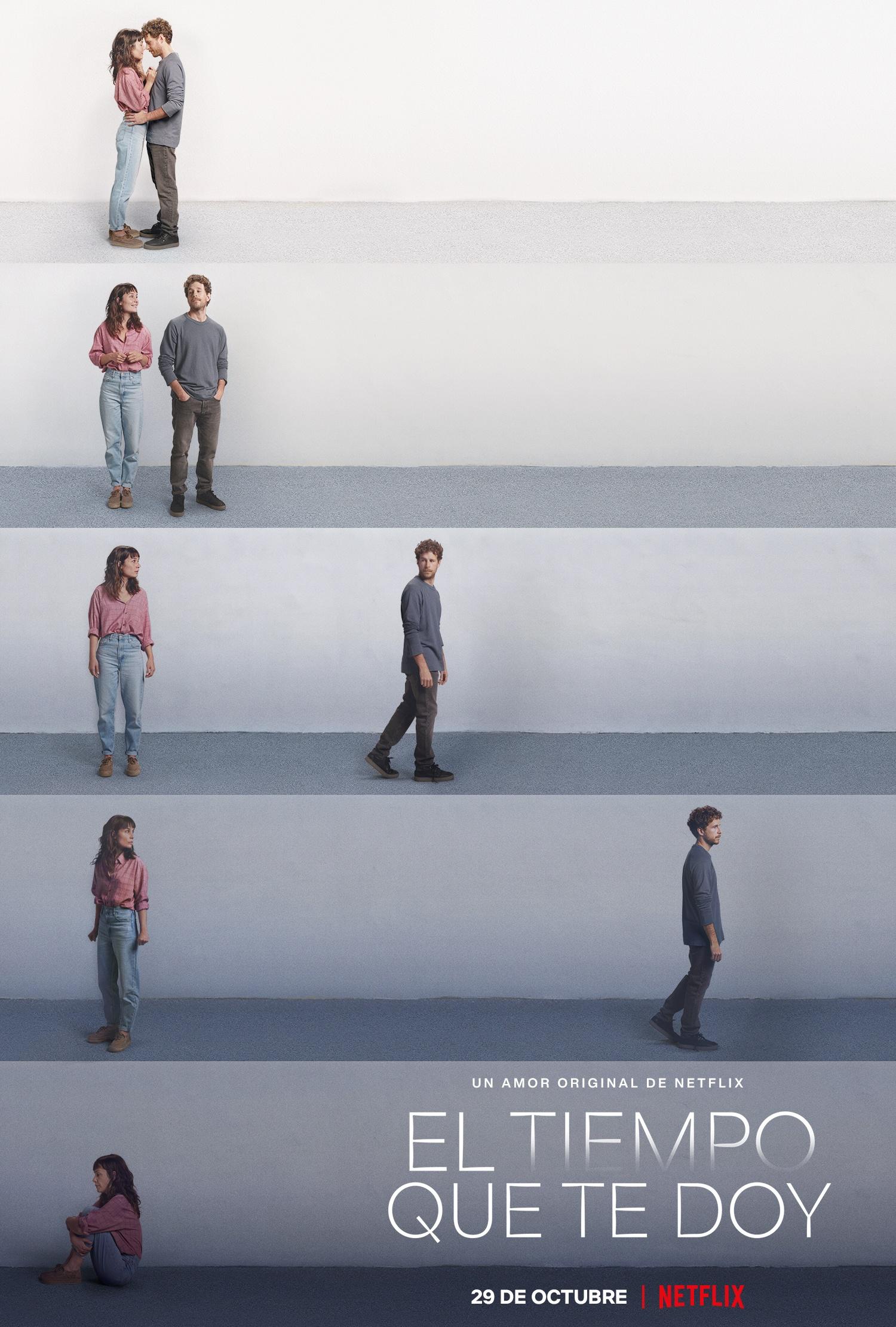 'El tiempo que te doy': Tráiler y póster de la serie de Nadia de Santiago • En tu pantalla