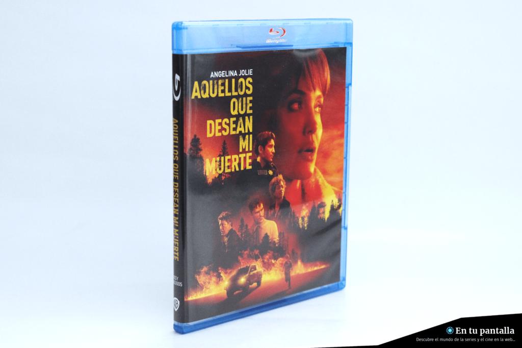 Análisis Blu-ray: 'Aquellos que desean mi muerte', la nueva película de Angelina Jolie • En tu pantalla