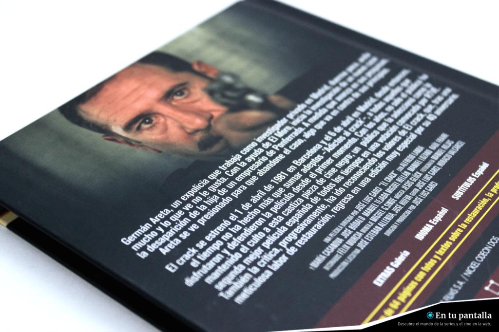 'El Crack': Un vistazo al digibook Blu-ray de Divisa Home Video • En tu pantalla