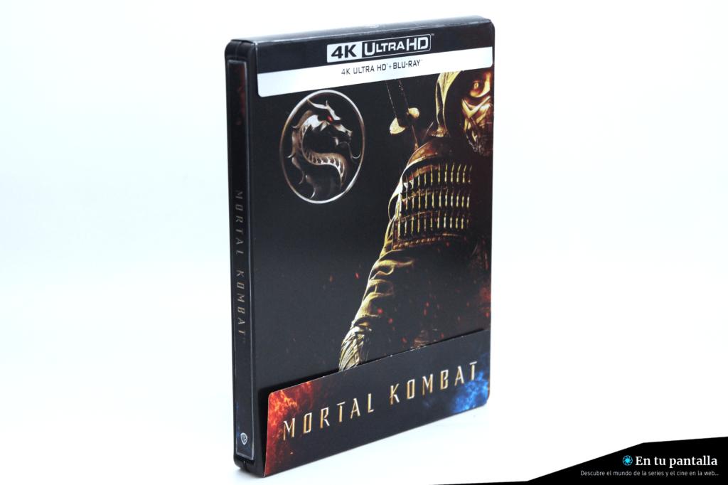 'Mortal Kombat': Un vistazo al steelbook 4K Ultra HD • En tu pantalla