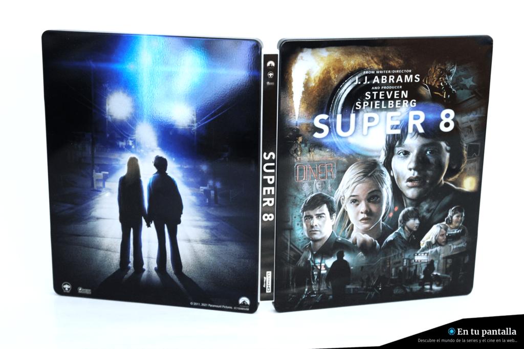 'Super 8': Un vistazo al steelbook 4K Ultra HD • En tu pantalla