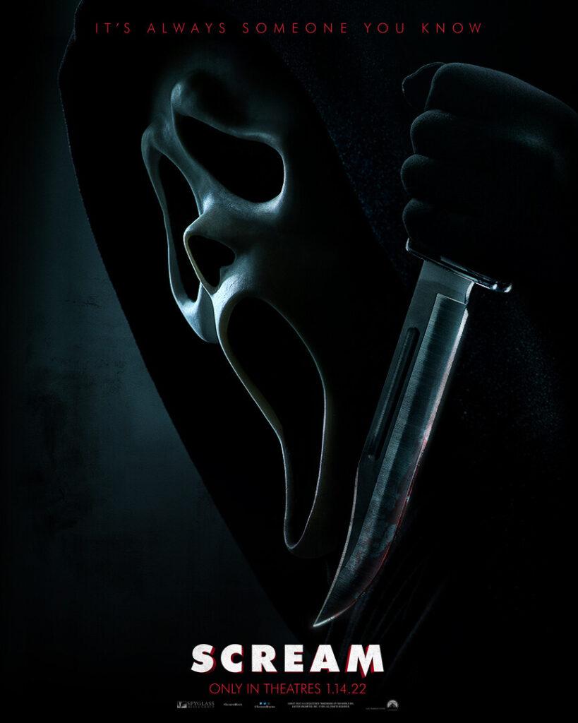 Póster de 'Scream'. (Fuente: Paramount Pictures)