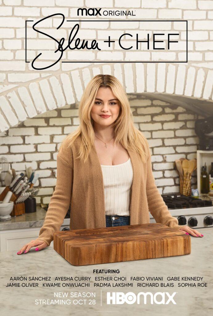 Selena Gómez regresa a las cocinas con la 3ª temporada de 'Selena + Chef' en HBO Max • En tu pantalla