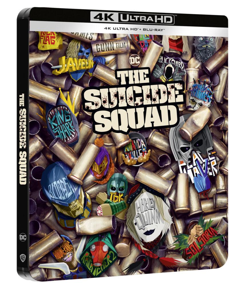 'El Escuadrón Suicida' llegará en 4K, steelbook, Blu-ray y Dvd el 2 de noviembre • En tu pantalla