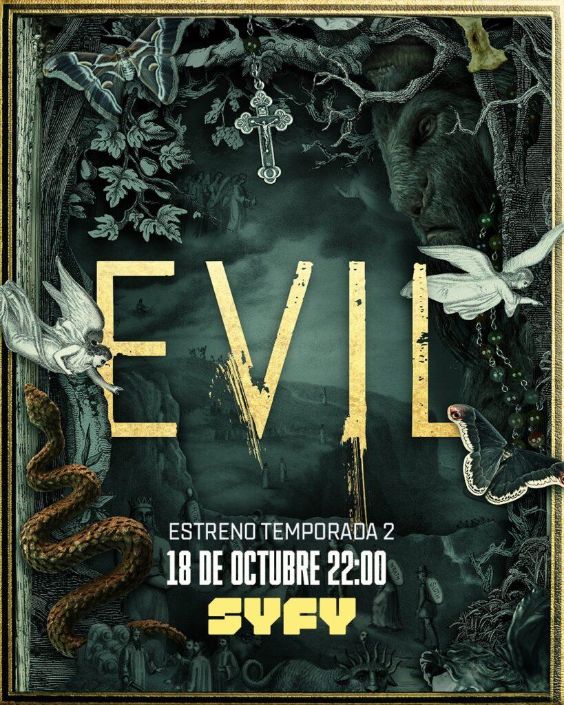 'Evil' arrancará en SYFY con su 2ª temporada el 18 de octubre • En tu pantalla