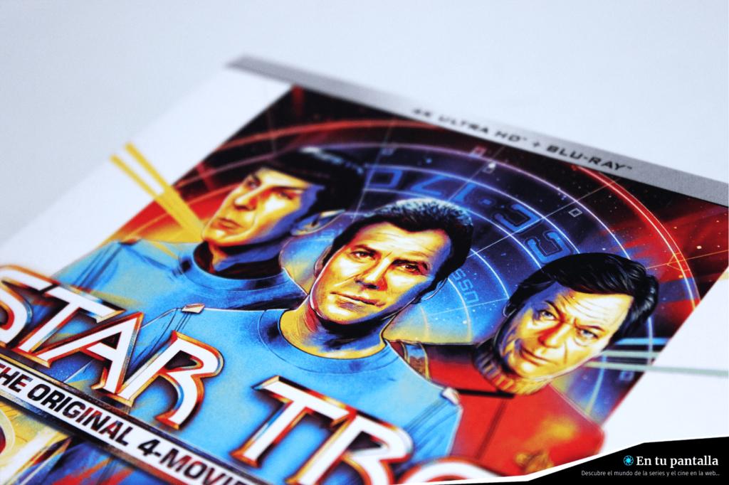 'Star Trek': Un vistazo al pack 4K Ultra HD con las primeras películas • En tu pantalla