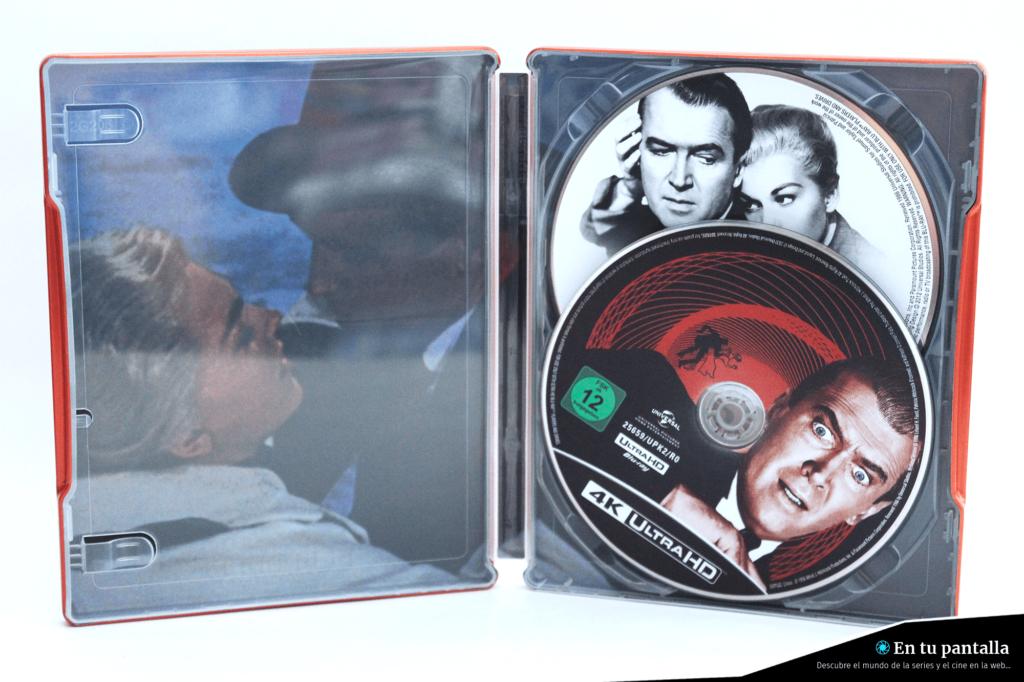 'Vértigo': Un vistazo al steelbook 4K Ultra HD • En tu pantalla