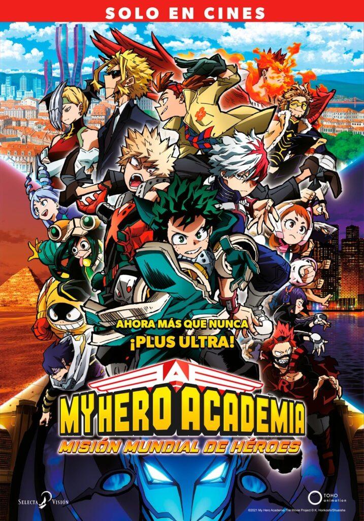 'My Hero Academia: Misión Mundial de Héroes' el 12 de noviembre en cines • En tu pantalla